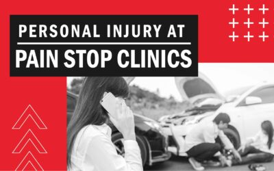 Personal Injury at Pain Stop Clinic